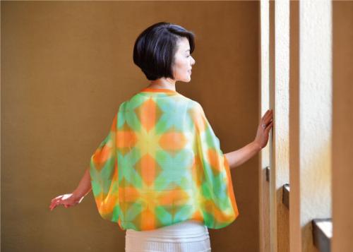 スカーフ_モデル
